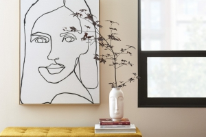 10 Rooms in Your Home Elevated with Graphic Art