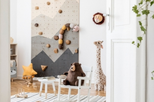 Build a Climbing Wall You Will Want Your Kids to Climb On!